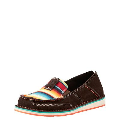 Ariat Women's Chocolate Serape Cruiser Shoes