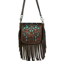 Montana West's Phone Charging Leather Crossbody Purse