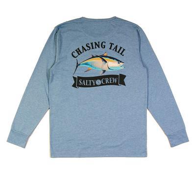 Salty Crew Men's Long Sleeve Sickle Fin Tech T-Shirt