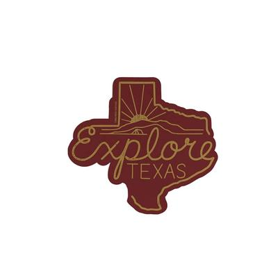 Tumbleweed's Explore Texas Sticker