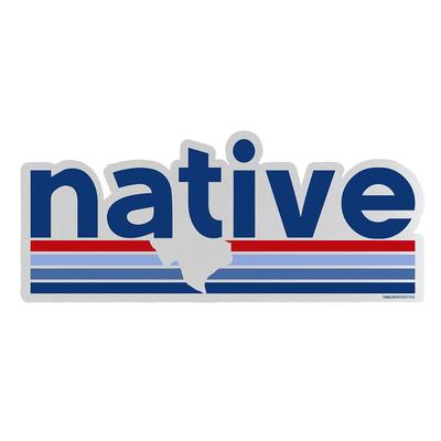 Tumbleweed's Native Texan Bumper Sticker