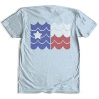 Tumbleweed Men's Texas Waves Logo T-Shirt