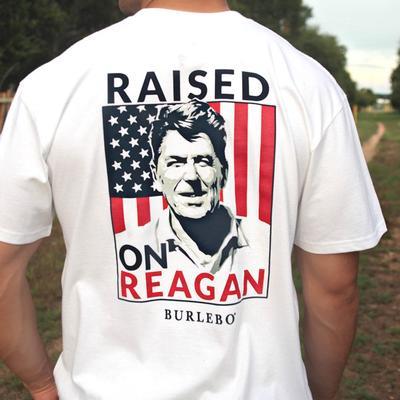 Burlebo Men's Raised On Reagan Tee