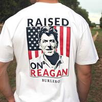 Burlebo Men's Raised on Reagan Tee