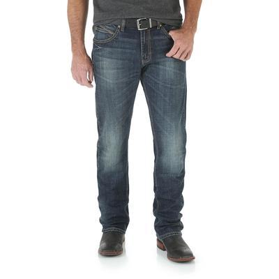 Wrangler Men's Retro Slim Fit Straight Jeans