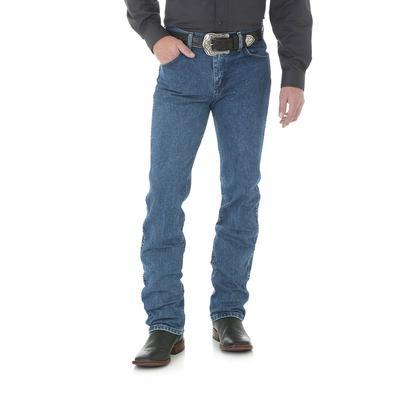 Wrangler Men's Dark Cowboy Cut Slim Fit Jeans