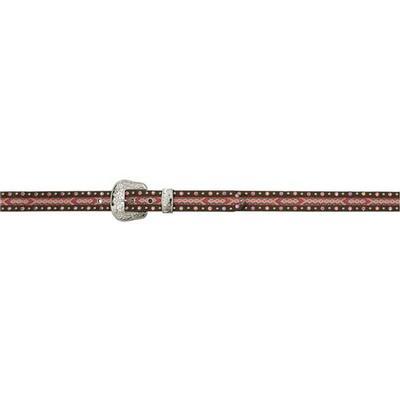 3d Girl's Multi Color Leather Belt