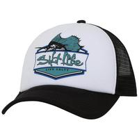 Salt Life Youth's Sailfish Badge Mesh Cap