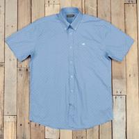 Southern Marsh Men's Blue Bars  Astor Shirt