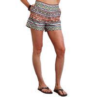 Stetson Women's Multi-Colored Canvas Shorts