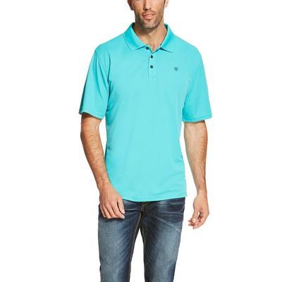 Ariat Men's Turquoise Tek Polo