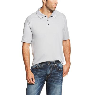 Ariat Men's Silver Ac Polo