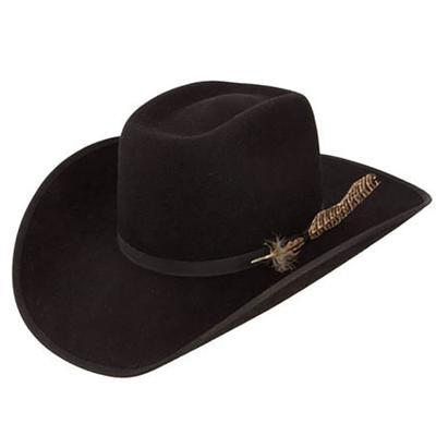 Resistol Kid's Holt Jr Black Felt Hat