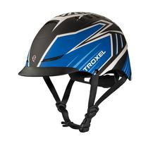 Troxel's Blue Raptor TX Riding Helmet