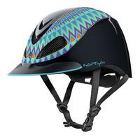 Troxel's Turquoise Aztec Fallon Taylor Riding Helmet