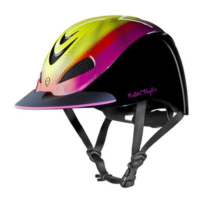 Troxel's Neon Flare Fallon Taylor Riding Helmet