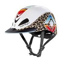 Troxel's Pearl Leopard Fallon Taylor Riding Helmet