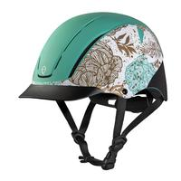 Troxel's Mint Serenity Spirit Riding Helmet