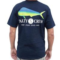 Salty Crew Men's Navy Mahi Shirt