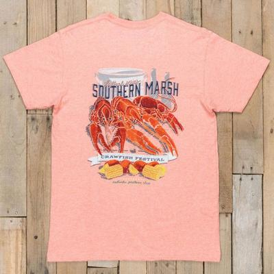 Southern Marsh Men's Crawfish Festival Tee