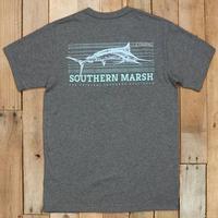 Southern Marsh Men's Fieldtec Fish Tee