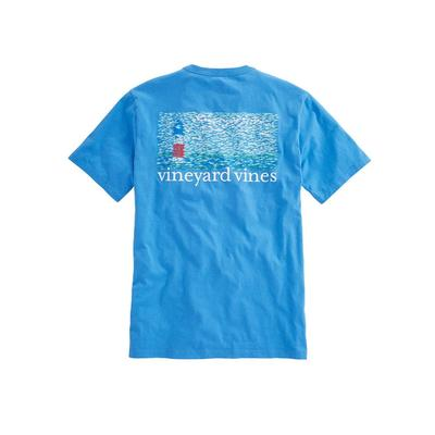 Vineyard Vines Men's Fish Lighthouse T- Shirt