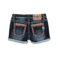 Miss Me Girl's Scenic Southwest Shorts