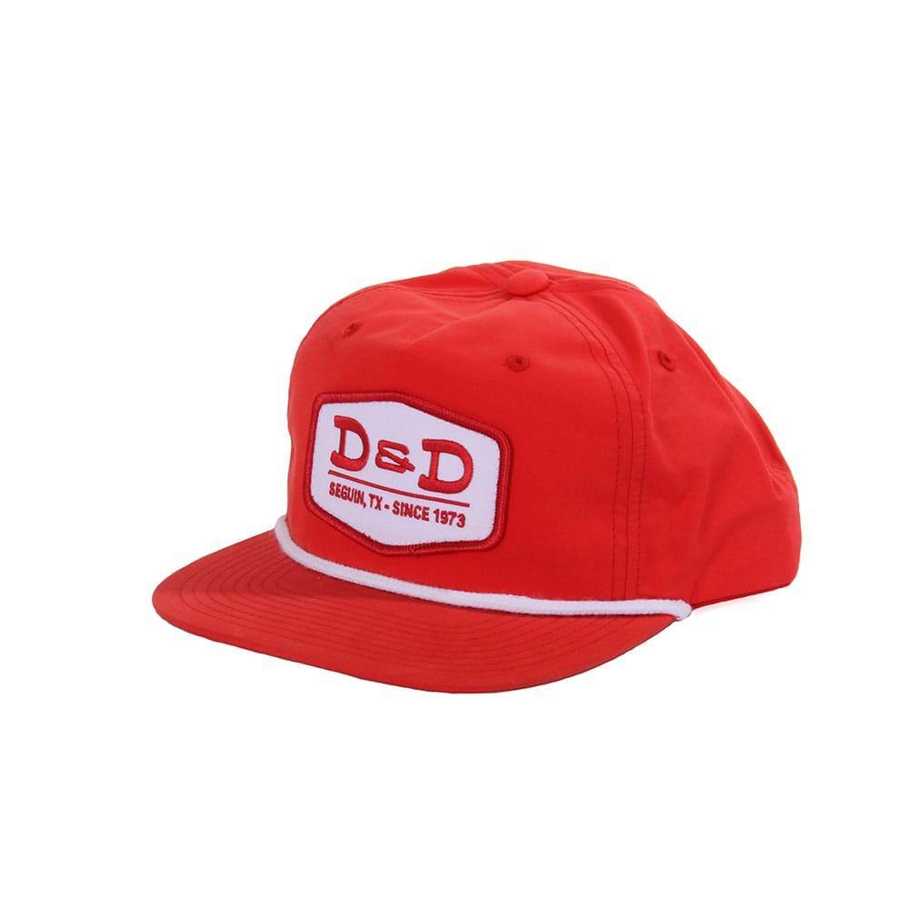 e59cb7dc2c4 D   D Texas Outfitters Red Grandpa Pinch Cap Item   18-956REA