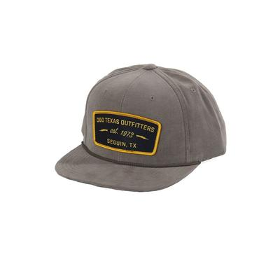 D & D Texas Outfitters Olive Corduroy Snap Back Cap