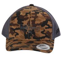 Hooey Men's Camo And Grey OB Golf Cap