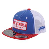 Cactus Ropes Youth Red, White, And Blue Trucker Cap
