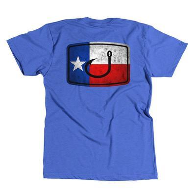 Avid Men's Lone Star Flag Fishing T- Shirt