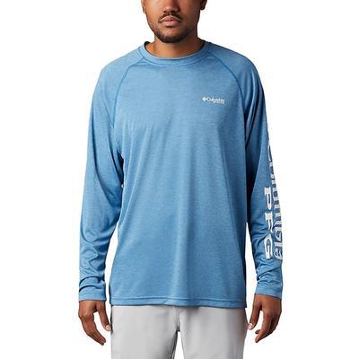 Columbia Men's Long Sleeve Terminal Tackle Pfg Heather Shirt