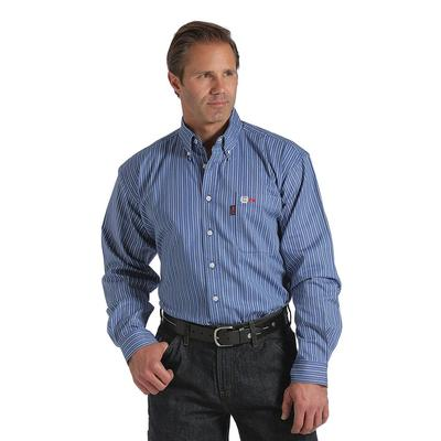 Cinch Men's Fire Resistant Striped Shirt