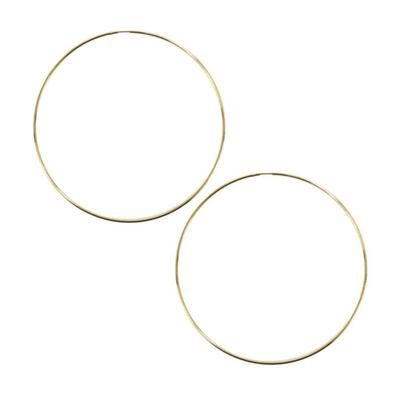 d d outfitters thin hoop earrings