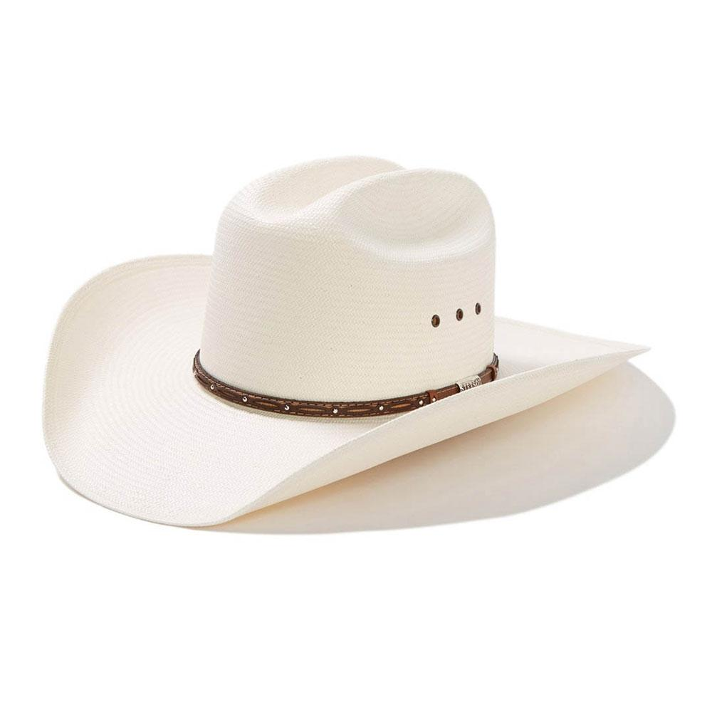 c1fb39a2805 Stetson Men s Mitchell 8X Straw Hat