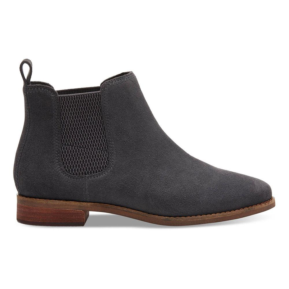 reasonable price diversified in packaging 2019 factory price Toms Womens Grey Ella Ankle Boots