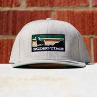 Dale Brisby Sliver Rodeo Time Sunset Snapback Cap