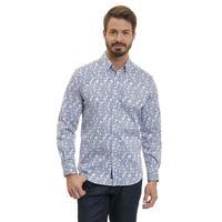 Robert Graham Men's Blue Stafford Sport Shirt