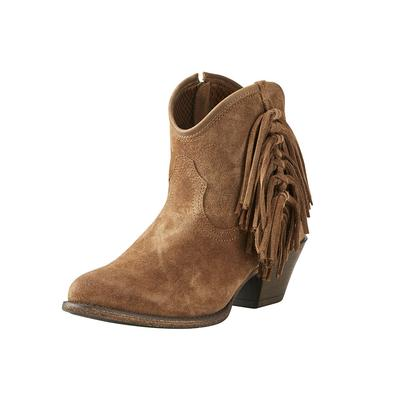 Ariat Women's Tan Suede Duchess Boots