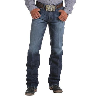 Cinch Men's Dark Stonewash White Label Jeans