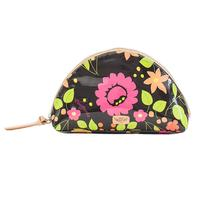 Consuela Neon Floral Large Dome Cosmetic Bag
