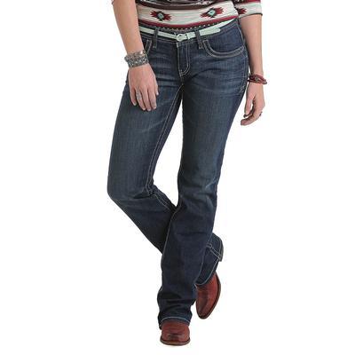Cruel Girl Women's Dark Rise Low Rise Blake Jeans