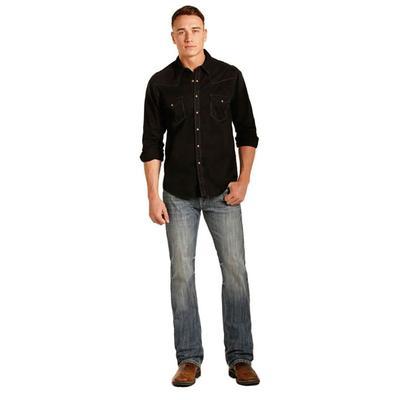 Rock & Roll Denim Men's Regular Fit Pistol Straight Jean