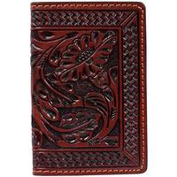 3D Men's Tooled Card Case