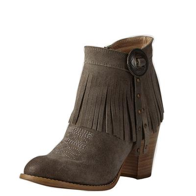 Ariat Women's Taupe Unbridled Avery Ankle Boots
