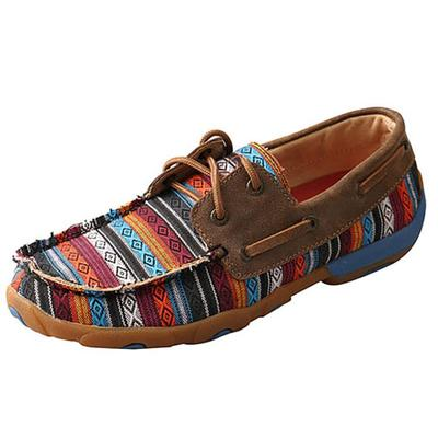 Twisted X Women's Serape Bomber Moccasin Shoes