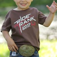 Cinch Toddler Boy's Ride Rank Tee