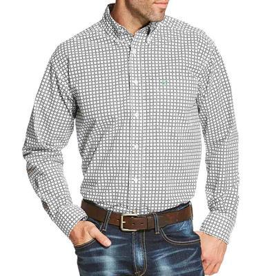 Ariat Men's Long Sleeve Odessa Print Shirt