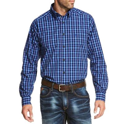 Ariat Men's Pro Series Classic Blue Owensville Shirt